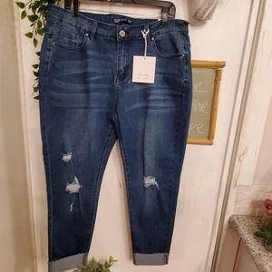 New Vintage violet high rise skinny jeans